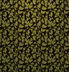 Seamless pattern, green