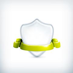 White shield, award