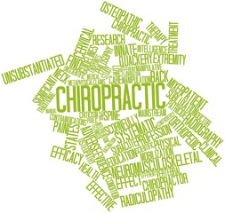 Word cloud for Chiropractic