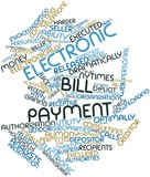 Word cloud for Electronic bill payment