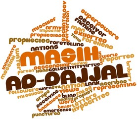 Word cloud for Masih ad-Dajjal