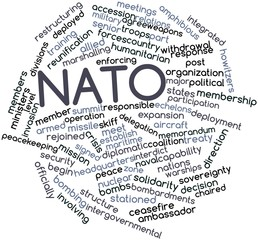 Word cloud for NATO