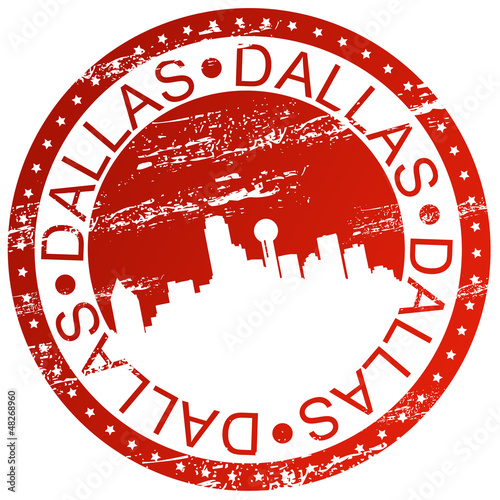 Stamp - Dallas, USA