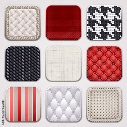Square textile apps