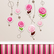roses & chocolate background