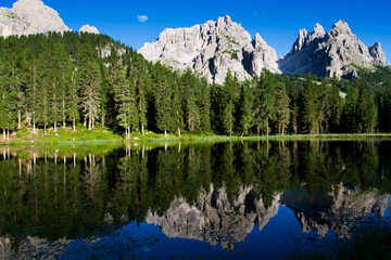 Dolomites Mountains, Unesco natural world heritage in Italy