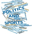 Word cloud for Politics and sports