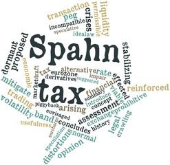 Word cloud for Spahn tax