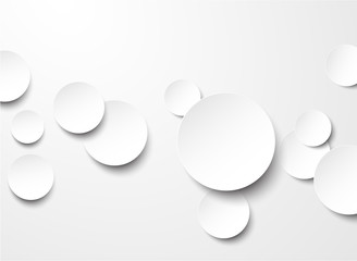 Paper white circles. © Vjom