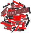 Word cloud for Vegetable oil