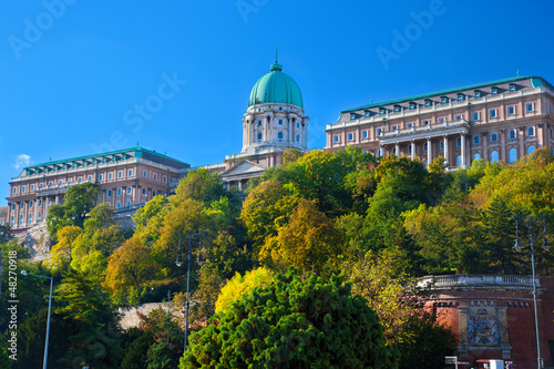Buda Castle in Budapest, Hungary