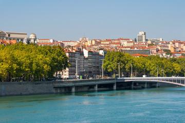Lyon cityscape. France