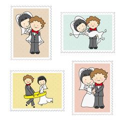 Sellos recien casados
