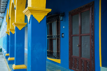 Colonial architecture in Tlacotalpan (Mexico)