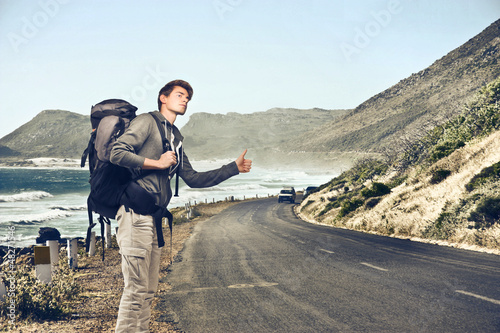 hitch-hiking