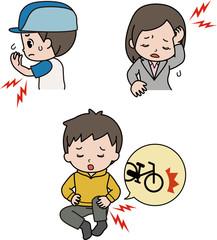 スポーツ痛、頭痛、事故の後遺症