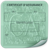 Sticker Certificat d'assurance (France)