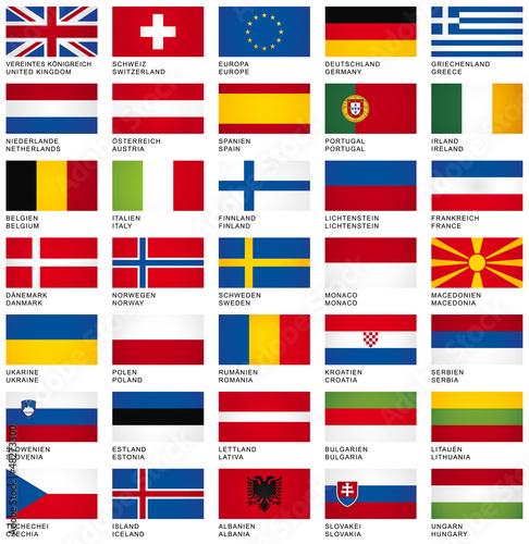 FLAG SET *** Europe - 48273300
