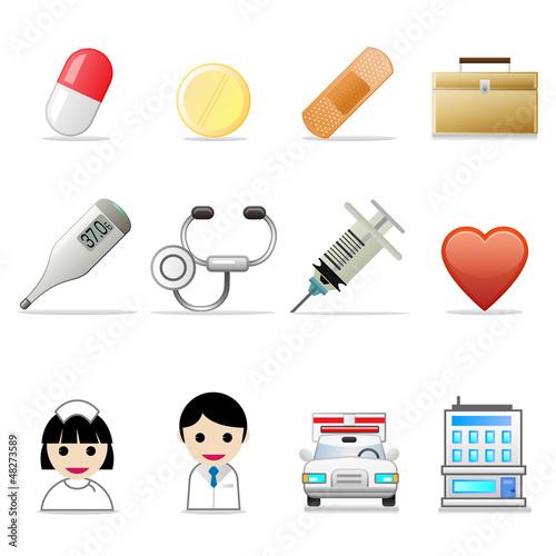 アイコン12セット(医療)
