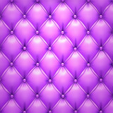 Purple vector upholstery leather pattern background.