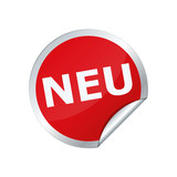 Sticker Button Neu