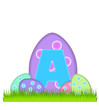 Alphabet Big Egg Hunt A