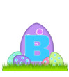 Alphabet Big Egg Hunt B