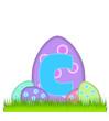 Alphabet Big Egg Hunt C
