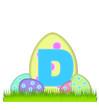 Alphabet Big Egg Hunt D