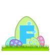Alphabet Big Egg Hunt F