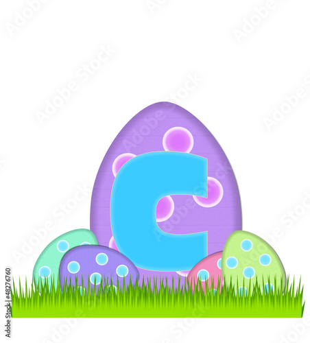 Alphabet Big Egg Hunt C