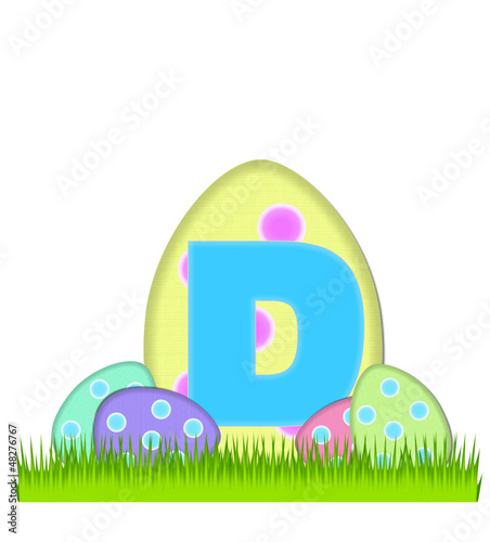 Alphabet Big Egg Hunt D