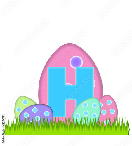 Alphabet Big Egg Hunt H