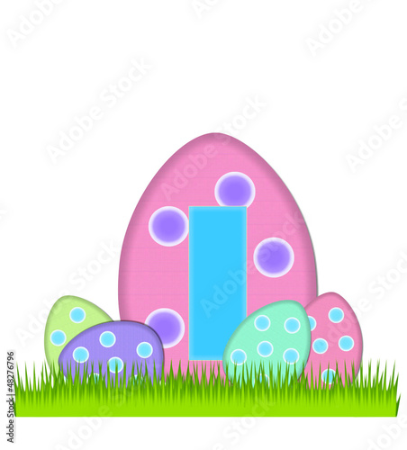 Alphabet Big Egg Hunt I