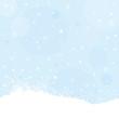 Winter, Schnee, Schneeflocken, Eiskristalle, Hintergrund