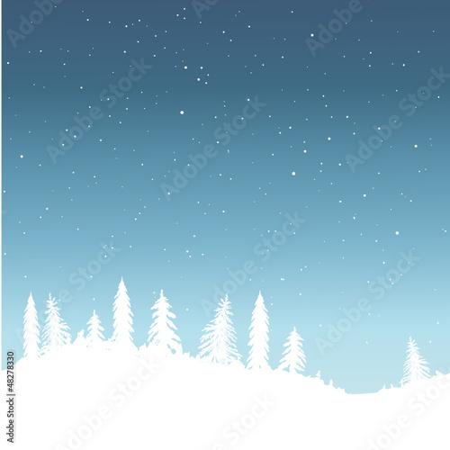 Winter, Schnee, Schneeflocken, Hintergrund