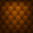 Brown vector upholstery leather pattern background.