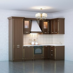 Luxury Wooden Kitchen Cabinet