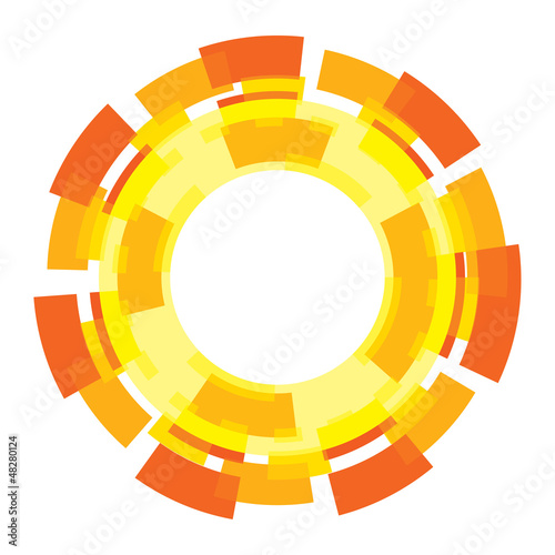 Sun graphic design element sign symbol abstract