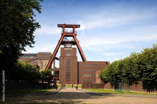 Leinwanddruck Bild Zeche zollern Zollverein - Essen