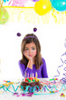 asian child sad bored kid girl in birthday party