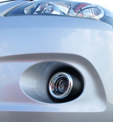 modern car fog light