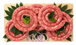 Salsiccia zampina di suino - Pork sausage