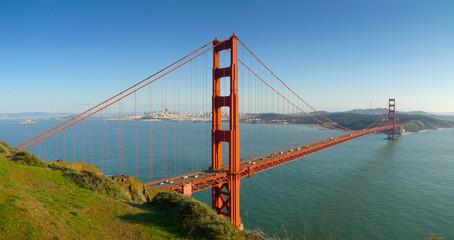 San Francisco Golden Gate Bridge Panoramic