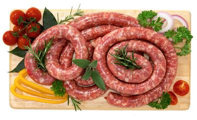 Salsiccia luganega di suino - Pork sausage