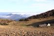 Les Vosges et la mer de nuages