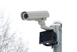 CCTV camera with infrared illuminator