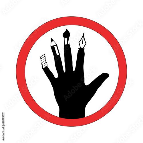 Verbot für Kreativität
