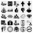 Banking, Business, Finance and human resources set. Vector set