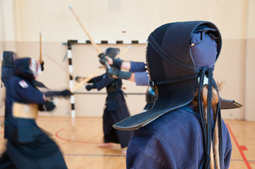 Kendo master training